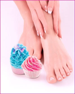 Lakme Salon - Candy crush Pedicure Manicure