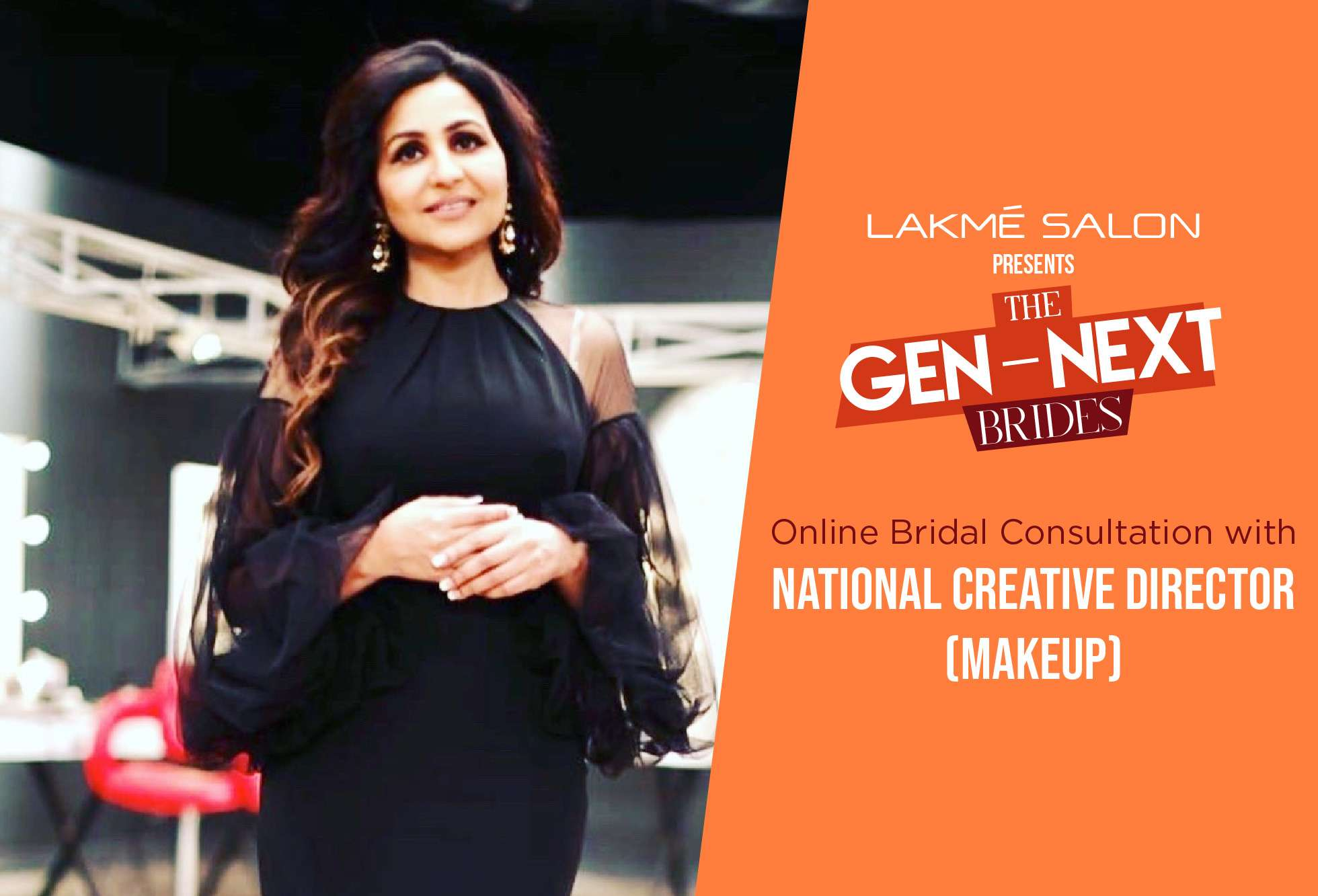 Lakme Salon - Book an online bridal consultation with our National Creative Director